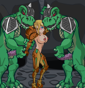 Legend of Krystal Samus Orgy Hentai Flash Sex Game With Reptiles