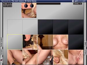 robotic puzzle porn flash game