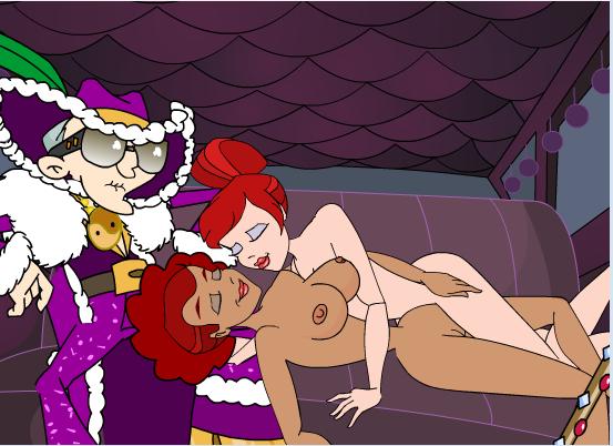 Dirty Ernie Show 2 Pimp Lesbian Sex