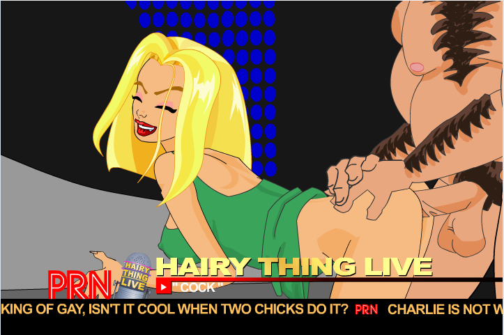 Hairy Thing Live Dr Phil Fucking Charlie Doggy Style