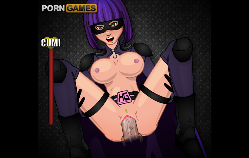 Kick Ass Girl Juicy Cunt Big Tits Superhero Hardcore Fucking Cartoon Video