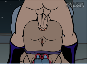 Wonder Slut Anal Sex Batman Fat Cock