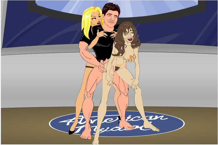 American Mydol Charlie Strap On Anal Simon Pounding Paula Adult Cartoon Video